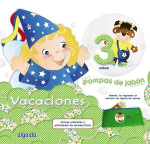 POMPAS DE JABÓN 3. CUADERNO DE VACACIONES
