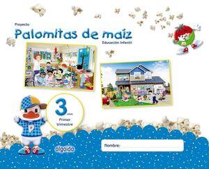 PROYECTO PALOMITAS DE MAIZ 3 AÑOS 1ºTRIMESTRE