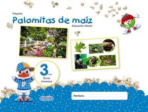 PROYECTO PALOMITAS DE MAIZ 3 AÑOS 3ºTRIMESTRE