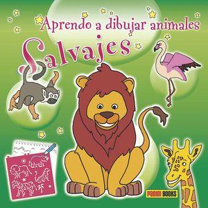 APRENDO A DIBUJAR ANIMALES SALVAJES