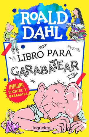 LIBRO PARA GARABATEAR CON ROALD DAHL