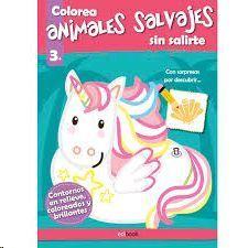COLOREA SIN SALIRTE ANIMALES SALVAJES