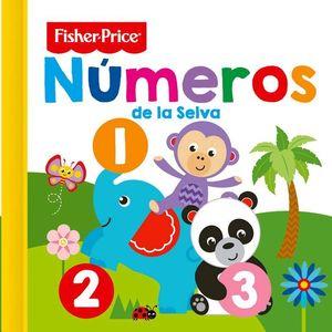 NUMEROS DE LA SELVA FISHER PRICE