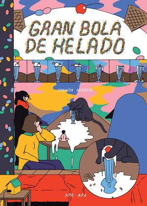 GRAN BOLA DE HELADO ABRIGADITOS 2