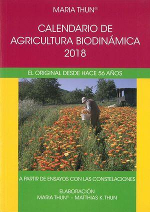 CALENDARIO AGRICULTURA BIODINAMICA 2018