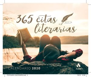 CALENDARIO 2020. 365 CITAS LITERARIAS