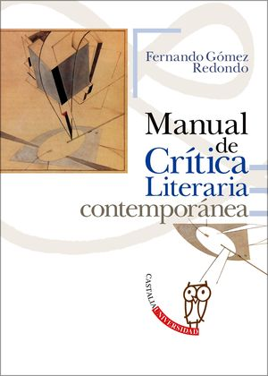 MANUAL DE CRITICA LITERARIA CONTEMPORANEA