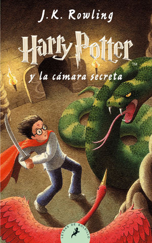 HARRY POTTER Y LA CAMARA SECRETA II BOLSILLO