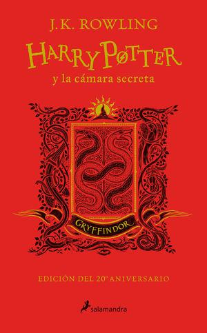 HARRY POTTER Y LA CÁMARA SECRETA. GRYFFINDOR