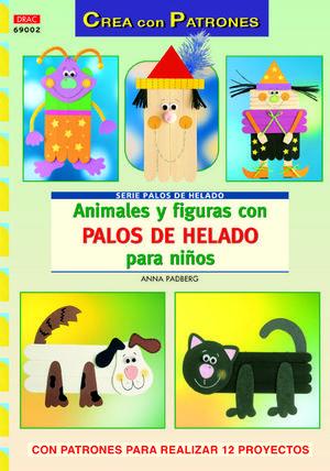 ANIMALES Y FIGURAS CON PALOS DE HELADO PARA NIÑOS