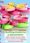 QUILLING MODERNO Y DECORATIVO