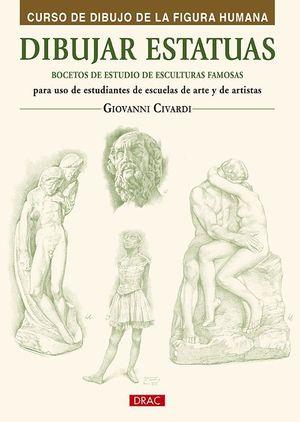 DIBUJAR ESTATUAS. BOCETOS DE ESTUDIO DE ESCULTURAS FAMOSAS