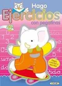 HAGO EJERCICIOS CON PEGATINAS Nº 2