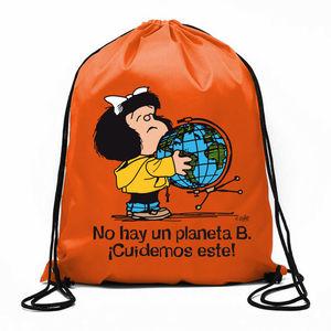 BOLSA DE CUERDAS MAFALDA ¡NO HAY UN PLANETA B!
