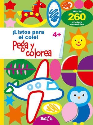 PEGA Y COLOREA 4+