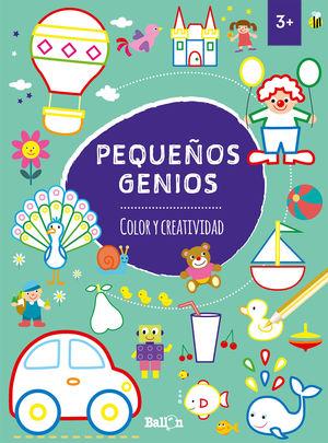PEQUEÑOS GENIOS - COLOR Y CREATIVIDAD +3