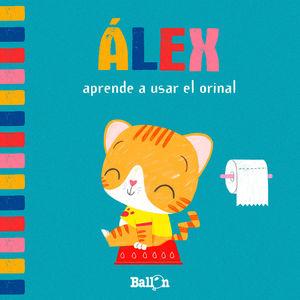 ALEX APRENDE A USAR EL ORINAL