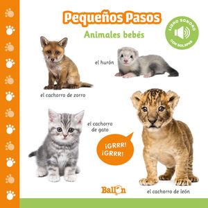 ANIMALES BEBÉS - PP LIBROS SONOROS