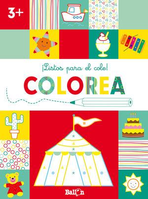 ¡LISTOS PARA EL COLE! COLOREA +3