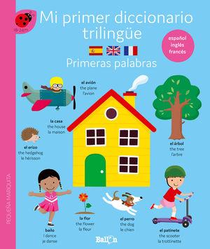 DICCIONARIO TRILINGÜE-PRIMERAS PALABRAS