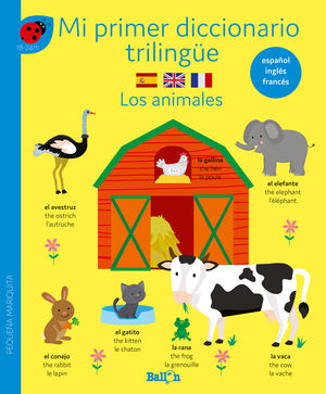 DICCIONARIO TRILINGÜE - LOS ANIMALES