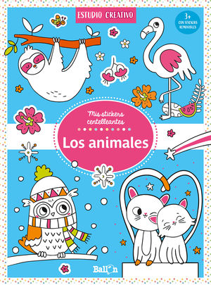 LOS ANIMALES - STICKERS CENTELLEANTES