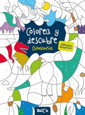 COLOREA Y DESCUBRE - DINOSAURIOS