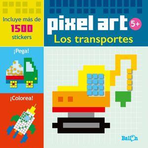 PIXEL ART/STICKERS - LOS TRANSPORTES