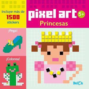 PIXEL ART/STICKERS - PRINCESAS