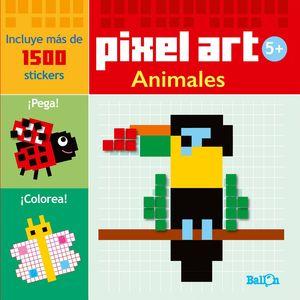 PIXEL ART/STICKERS - ANIMALES