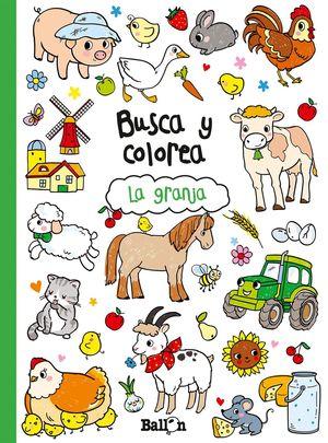 BUSCA Y COLOREA - LA GRANJA