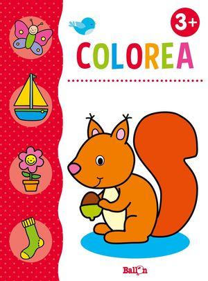 COLOREA + LÁPICES DE COLORES +3