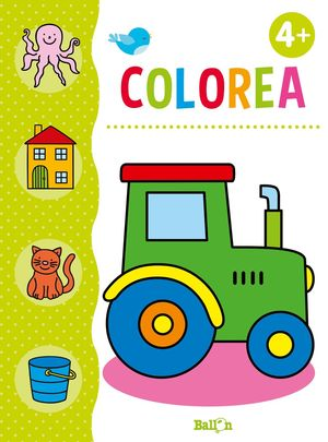 COLOREA + LÁPICES DE COLORES +4