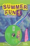 SUMMER FUN ALUM+CD 4 ESO