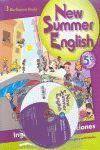 SUMMER ENGLISH ALUM+CD 5 PRIMARIA